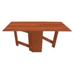 Стол-книжка обеденный Фиджи ЛДСП орех (0,8(1,92)*0,32*0,73)