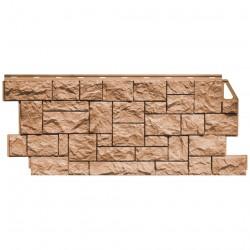 Панель фасадная FineBer 1,137*0,47 Камень дикий терракотовый