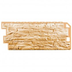 Панель фасадная FineBer 1,137*0,47 Скала песочная