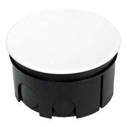 Коробка распаячная 80-0850 для скрытой проводки безгалогенная (HF) 76х42мм, Промрукав