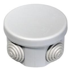 Коробка распаячная 40-0100 для открытой установки безгалогенная (HF) 65х40 мм, Промрукав