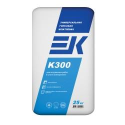 Шпаклевка гипсовая белая ЕК К300, 25 кг