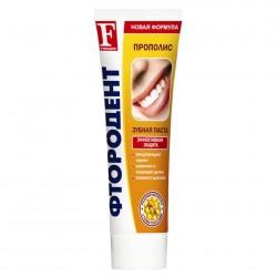 Зубная паста Фтородент 125г Прополис