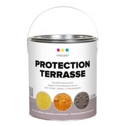 Масло Vincent Protection Terrasse деревозащитное 2,25л
