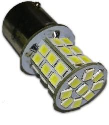 S105A T15/белый/ (BAY15S) 39SMD 2835 10-30V 1 contact блистер 2 шт белый