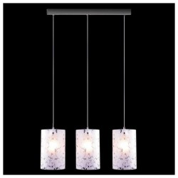 Светильник-подвес 1129/3 хром E27 3*60Вт