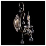 Светильник Meridian 12505/1 хрусталь/ант.бронза E14 40ВТ Strotskis