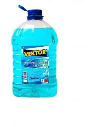 Жидкость для стеклоомывателя зимняя VEKTOR (-10) 4л ПЭТ кан.