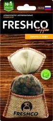 Ароматизатор на подвеске Freshсo Coffee пакет AR1FC201