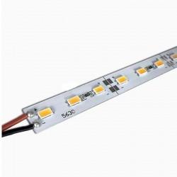 Лента светодиодная Uniel ULS-L20X-5630-72LED/m-12mm-IP20-DC12V-36W/m-2х1M-WW