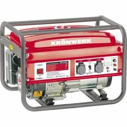 Генератор бензиновый KB 3500, 3,5 кВт, 220В/50Гц, 15 л, ручной старт  KRONWERK
