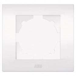 Рамка 1 постовая ABB Cosmo Бел (арт. 612-010200-271)