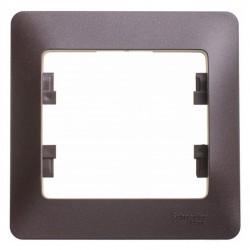 Рамка 1-я SE Glossa Шоколад (арт. SE GSL000801)