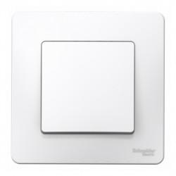 Выключатель 1-клавишный SE Blanca внутр Белый , 10А, 250B (арт. SE BLNVS010101)