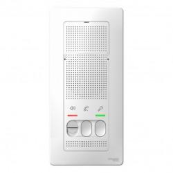 Переговорное устройство (Домофон) SE Blanca Белый 4,5 В (арт. SE BLNDA000011)
