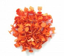 Зажим для выравнивания плитки, оранжевый (100 шт)