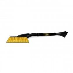 Щетка для снега со скребком AVS WB-6325 66cм мягкая ручка, распушенная щетина,  A78469S