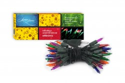 Гирлянда электрическая Minimi 100 разноцветных миниламп, для использования в помещениях 51824