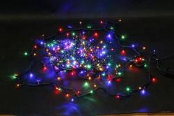 Электрогирлянда Нить 50  разноцветных LED, 8 режимов длина 5 м, 220 v 55056
