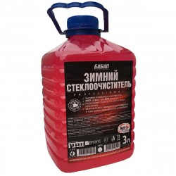 Жидкость для стеклоомывателя зимняя 3л, БиБип Light (-15*С), ПЭТ, BB-307
