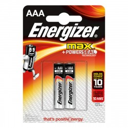 Батарейка ААА алкалиновая Energizer MAX, 2шт