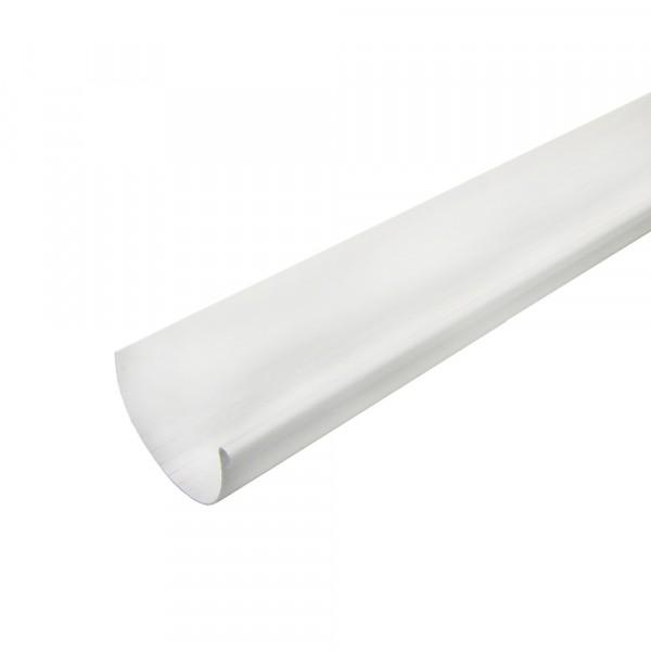 желоб водосточный murol, цвет белый, 130 мм х 3 м желоб водосточный пвх murol d130мм 3м белый