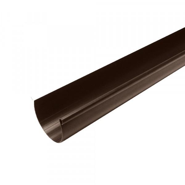 желоб водосточный murol, цвет коричневый, 130 мм х 3 м желоб водосточный пвх murol d130мм 3м белый