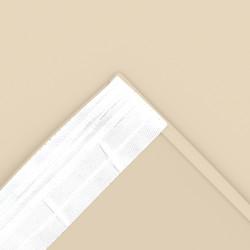 Портьера 165*250 на тесьме (Блэкаут однотонный 8160 11 светло-коричневый)