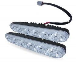 Дневные ходовые огни (DRL) Light AVS DL-6B (6W, 6 светодиодов х 2шт)