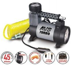 Компрессор автомобильный Turbo AVS KS450L