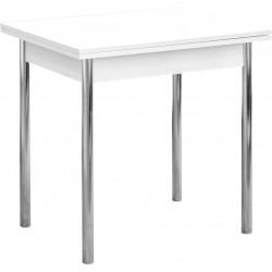 Стол раскладной Анабон пластик, опора прямая белый матовый 5101 (0,8*0,6*0,75)