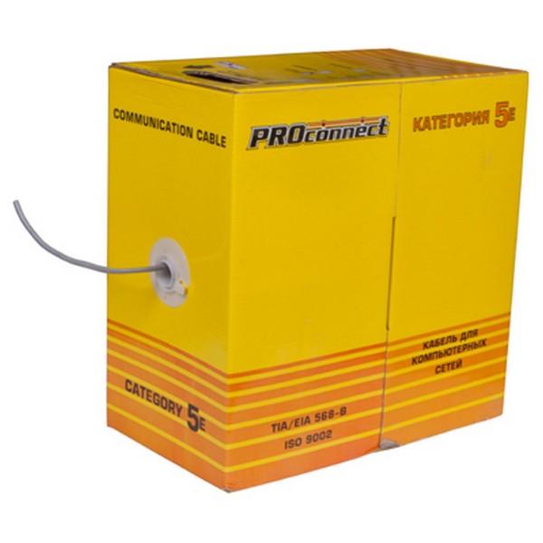 кабель utp 4pr 24awg cat5e 25м proconnect