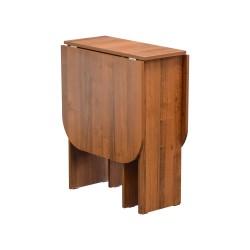 Стол-книжка обеденный Ветлуга (Орех) (0,6*0,292*0,75)