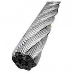 Трос стальной для растяжки DIN 3055 6,0мм 15м накл. Tech-Krep