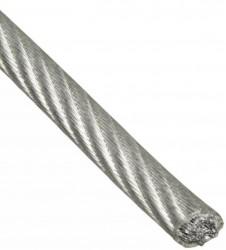 Трос в оплётке PVC 2/3 20м накл. Tech-Krep