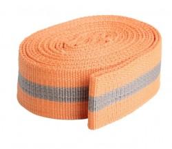 Лента стяжная ЛПЭР-35-3000, 35мм, оранжевая, 5м пакет Tech-Krep