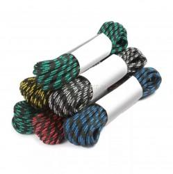 Шнур плетеный ПП 8мм с серд., 24-пряд. высокопр., цветной, 30м