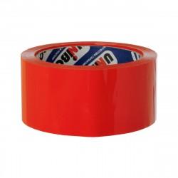 Скотч упаковочный 48мм*66м UNIBOB600 красный 28720