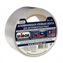 Лента алюминевая клейкая  для авторемонтных работ UNIBOB 50мм*25м 50124