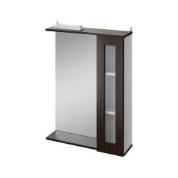 Зеркало-шкаф 60см IKA Бостон венге темный