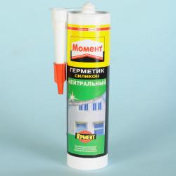 Герметик силиконовый HENKEL Момент нейтральный прозрачный 280мл 120939