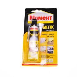Герметик силиконовый HENKEL Момент (белый) 85мл 82124