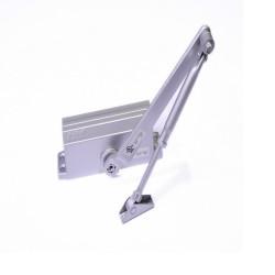 Доводчик дверной NORA-M №3S морозостойкий до 80кг малый, серый 632grey