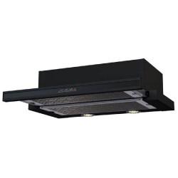 KAMILLA sensor 600 black (2 мотора) вытяжка кухонная
