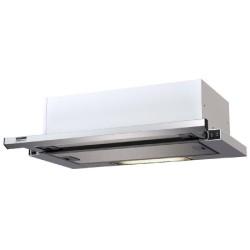 KAMILLA slim 600 INOX ( 2 мотора) вытяжка кухонная