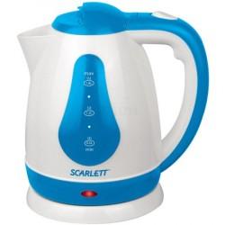 Чайник Scarlett SC-EK18P29 белый с голуб.