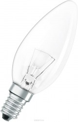 Лампа накал. OSRAM CLASSIC B CL 40W E14