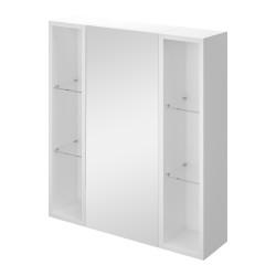 Зеркальный шкафчик Оскар 65 белый