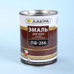 Эмаль ПФ-266 (Лакра) 3кг красно-коричневая