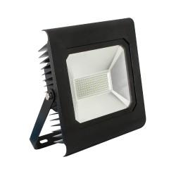 Прожектор светодиодный Ultraflash LFL-8010  C02 черный 80Вт